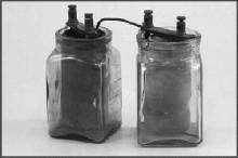 雷克兰士发明的电池