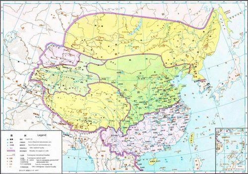 东晋行政区划